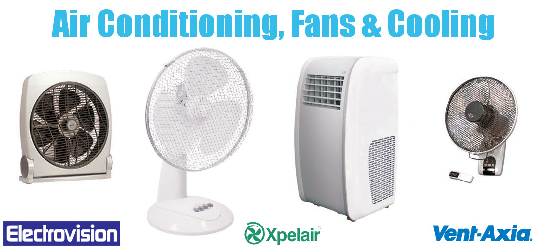 Airconditioning, Fans and Cooling