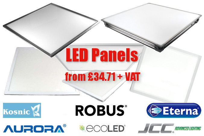 LED Panels from £37.91