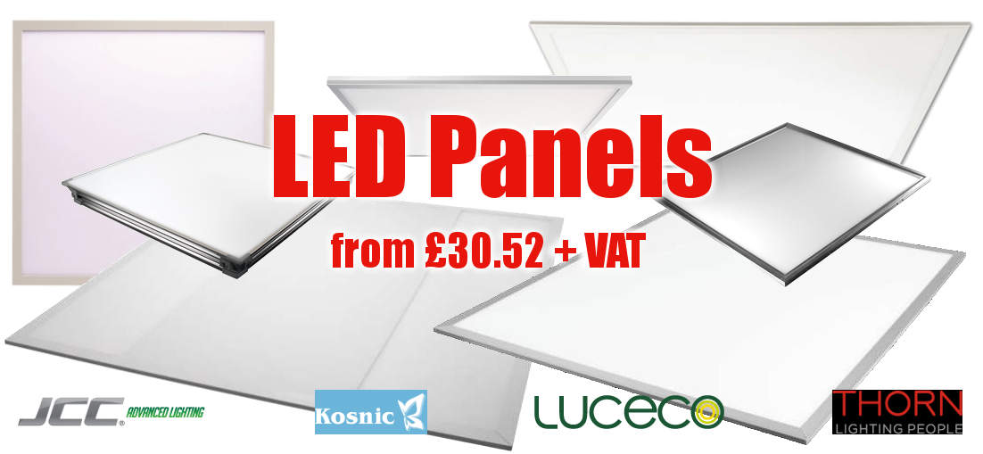LED Panels from £30.52 +VAT