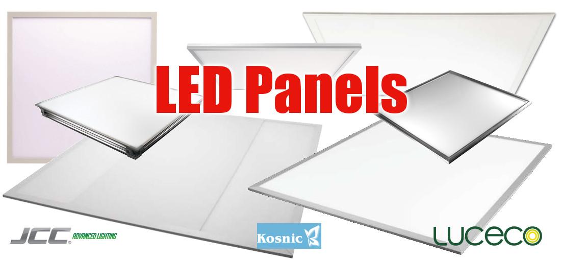 LED Panels from £23.56 +VAT