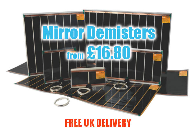 Mirror Demisters with Free UK Delivery