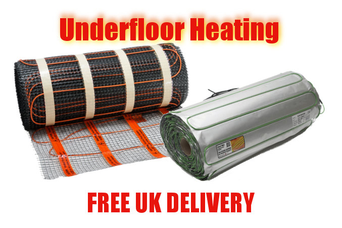 Underfoor, underlaminate heating, free UK delivery