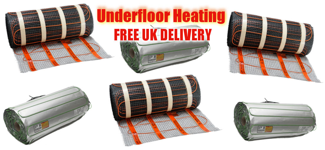 Underfoor, underlaminate heating, free UK delivery