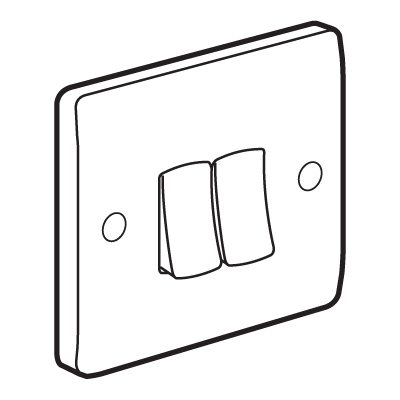 3 Way 2 Gang Switch Wiring Diagram together with 3 Gang Electrical Cover also Electrical Cover Plate Dimensions in addition Orbit 2b100 4 2 Gang 4 Hole 1 Inch Weatherproof Box Gray additionally Recessed Electric Box Extender. on 1 gang electrical box dimensions