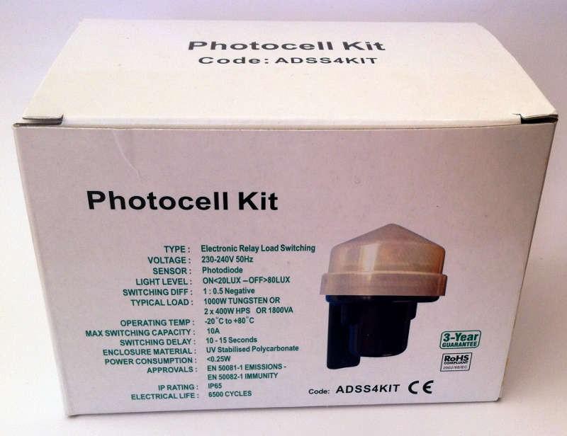 Photocell Kit With Nema Socket Adss4kit John Cribb