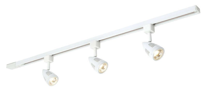 bullett 50w track spotlight white  3th113w