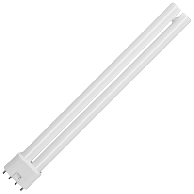 Sylvania 0025657 LYNX-L 24W/840 2G11 4000K Compact Fluorescent Lamp - Buy online or in store from John Cribb & Sons Ltd
