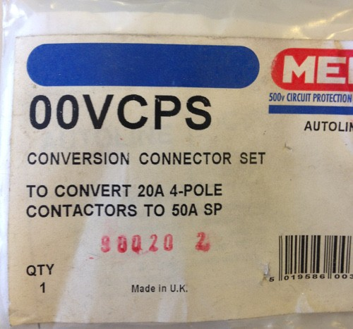 Eaton MEM 00VCPS contactor link