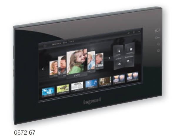 "BTICINO / LEGRAND 067267 New generation 10"" multimedia video touch screen, BLACK"