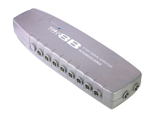 SLx Eight Output Aerial Distribution Amplifier - 4G Compatible