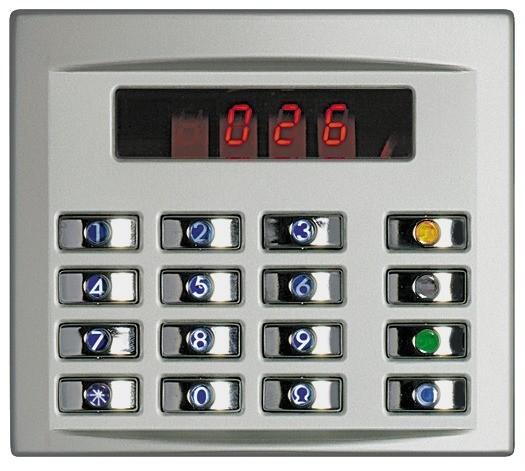 Terraneo/Bticino 332651 Codelock Cover