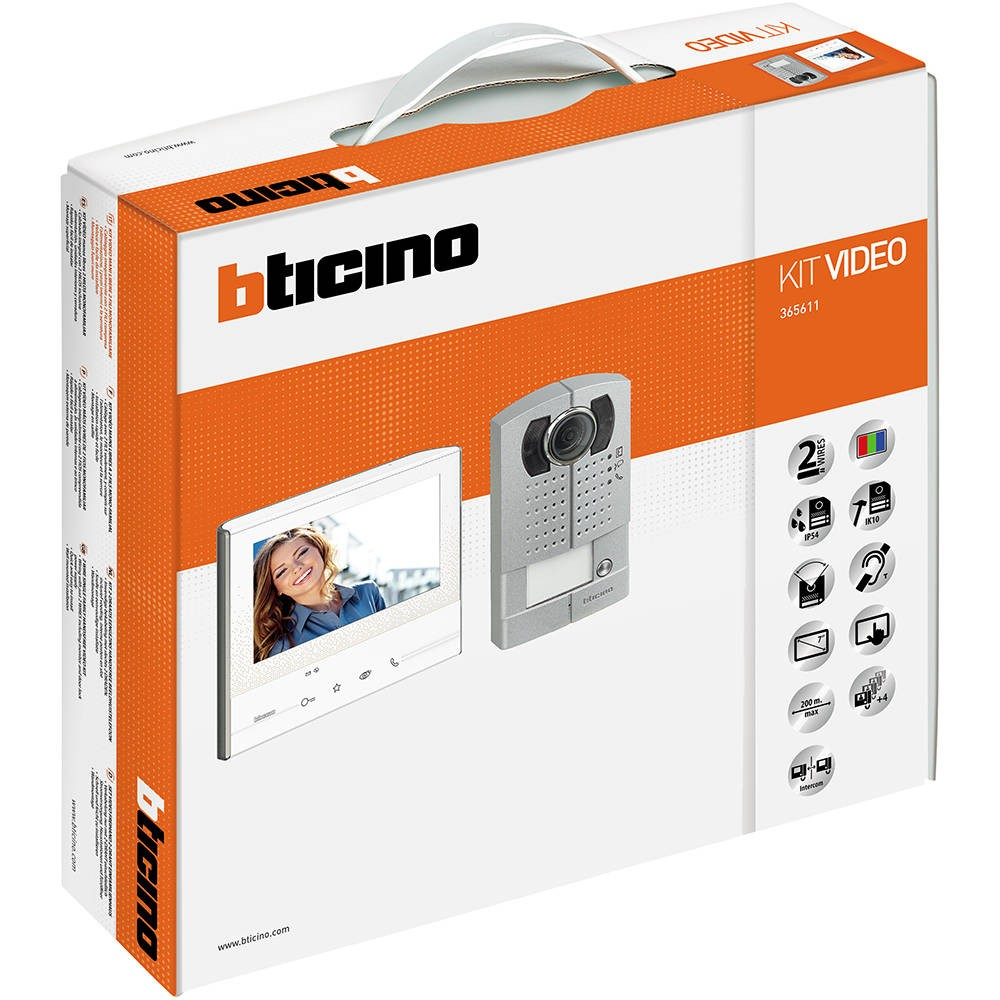Legrand Bticino 365611 Door Entry Kit Video C W Avt Classe 300 Wiring Accessories V13m L200m 1 Way John Cribb Sons Ltd Uk Electrical Distributors Dorset