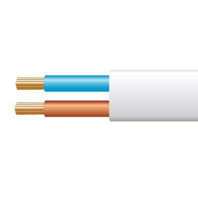 Lightwaverf Share Price >> 0.5mm² 2192Y 2 Core Flexible PVC cable, White - John Cribb & Sons Ltd, UK Electrical ...