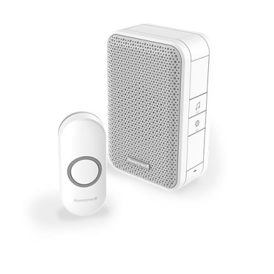 Honeywell Series 3 DC311N Wireless Portable Doorbell with Push Button – White  - Buy online or in store from John Cribb & Sons Ltd