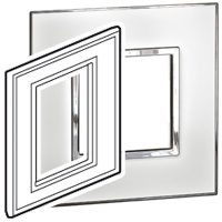 "BTICINO / LEGRAND 576484, Surround plates for 2·5"" multimedia display screens, WHITE"