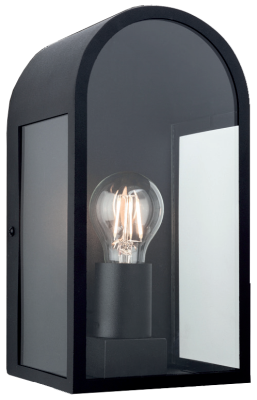 Firstlight 7669BK Eva Wall Light in Black - Buy online or in store from John Cribb & Sons Ltd