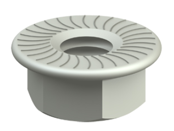 Cablofil EEC6E M6 Nut with Serrated Base