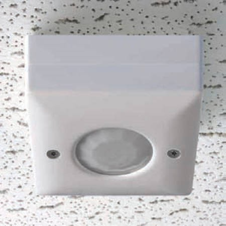 Danlers CELO Occupancy Switch, Ceiling Surface Mntd PIR Occupancy, Plug In Version, Size:	230V 6A (R) 6A (F) 2A (L)