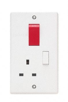 Contactum x1456 45a dp red cooker switch 13a switched socket contactum x1456 45a dp red cooker switch 13a switched socket upright vertical cooker panel john cribb sons ltd uk electrical distributors dorset asfbconference2016 Image collections