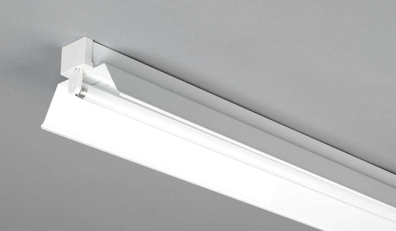 Dextra Lighting Dp4r Dexpax Steel Single Twin Trough