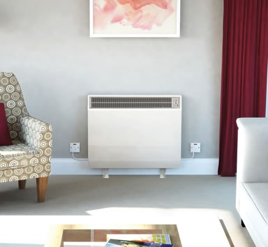 Dimplex CXLS24 Combination Storage Heater 3.4kW Willow White 2kW Convector