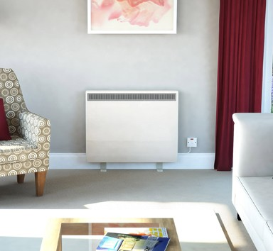 Dimplex XLS24N Automatic Storage Heater 3.4kW Willow White, Lot 20 Compliant