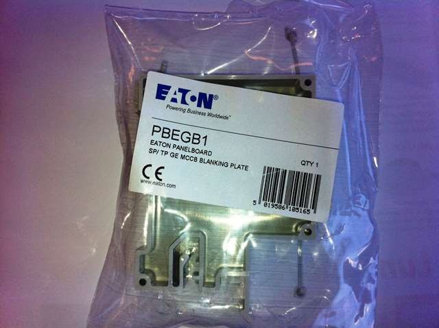 Eaton MEM PBEGB1 SP blank for panel board