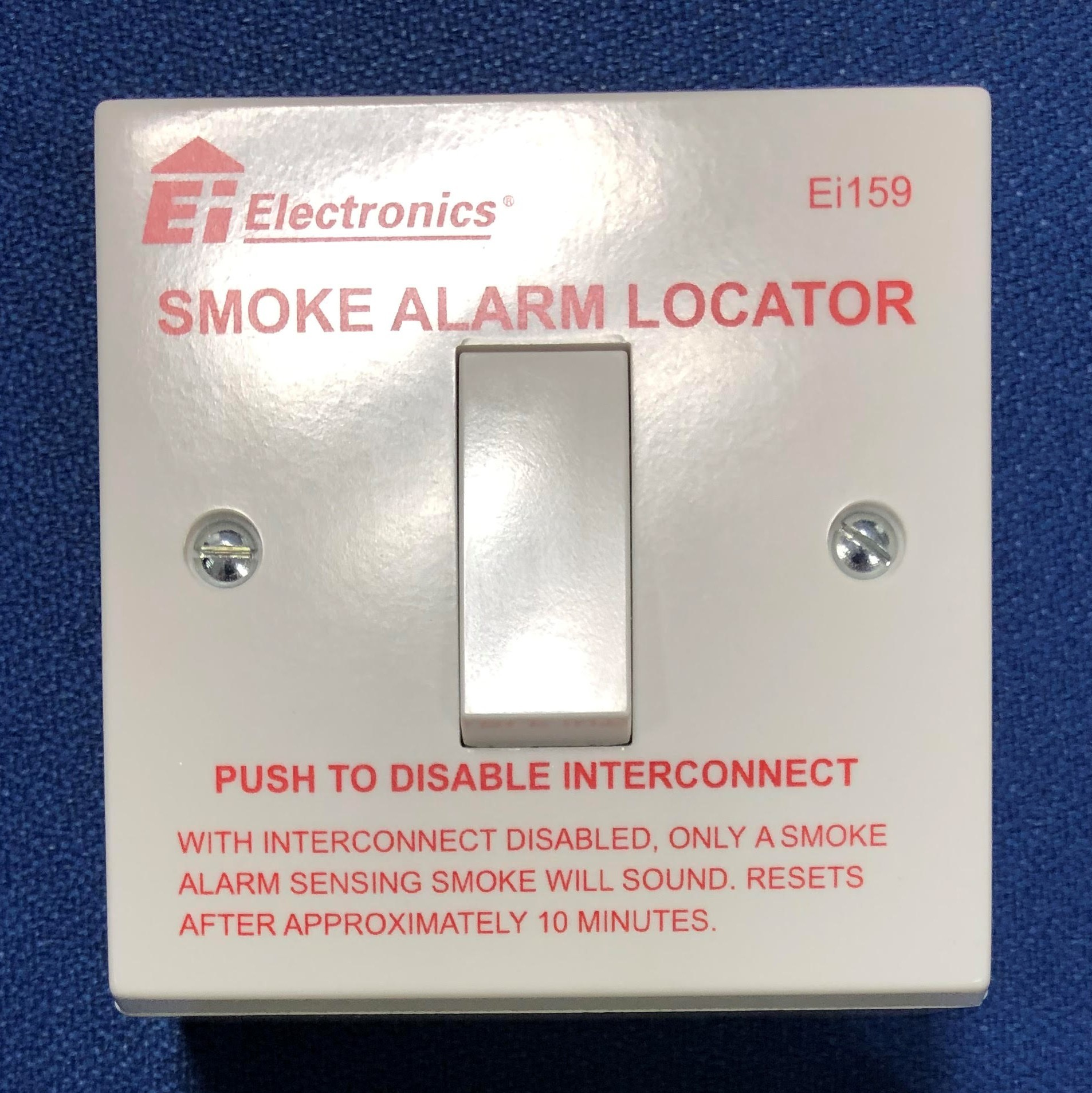 Aico Ei159 Smoke Alarm Locator Switch - Buy online or in store from John Cribb & Sons Ltd