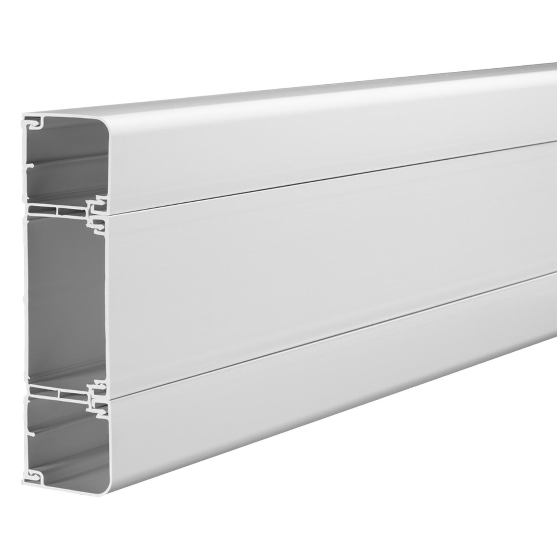 Schneider EL3W Mita Cableline 50 Installation Trunking 180x52 mm (3 Metres)