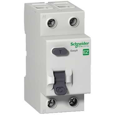 SCHNEIDER ELECTRIC, EZ9R33280, RCCB, DP Class AC, 2 Module, Size: 80A 30mA