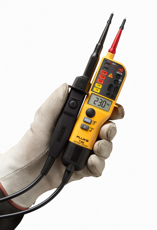 Fluke Electrical Testers : Fluke t voltage and continuity tester with lcd ohms