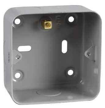 Schneider GBG01 GET 1 & 2 Gang Grid Mounting Flush Box - Buy online or in store from John Cribb & Sons Ltd