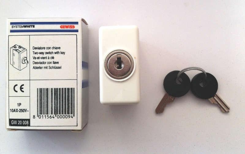 Mk 2 Way Key Switch