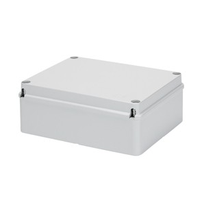 Gewiss Gw44210 Junction Box With Plain Screwed Lid Ip56