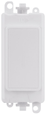 Scolmore GM2008PW GridPro® Blank Module in White - Buy online or in store from John Cribb & Sons Ltd
