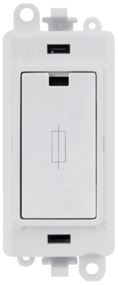 Scolmore GM2047PW GridPro® 13A Fused Connection Module in White - Buy online or in store from John Cribb & Sons Ltd