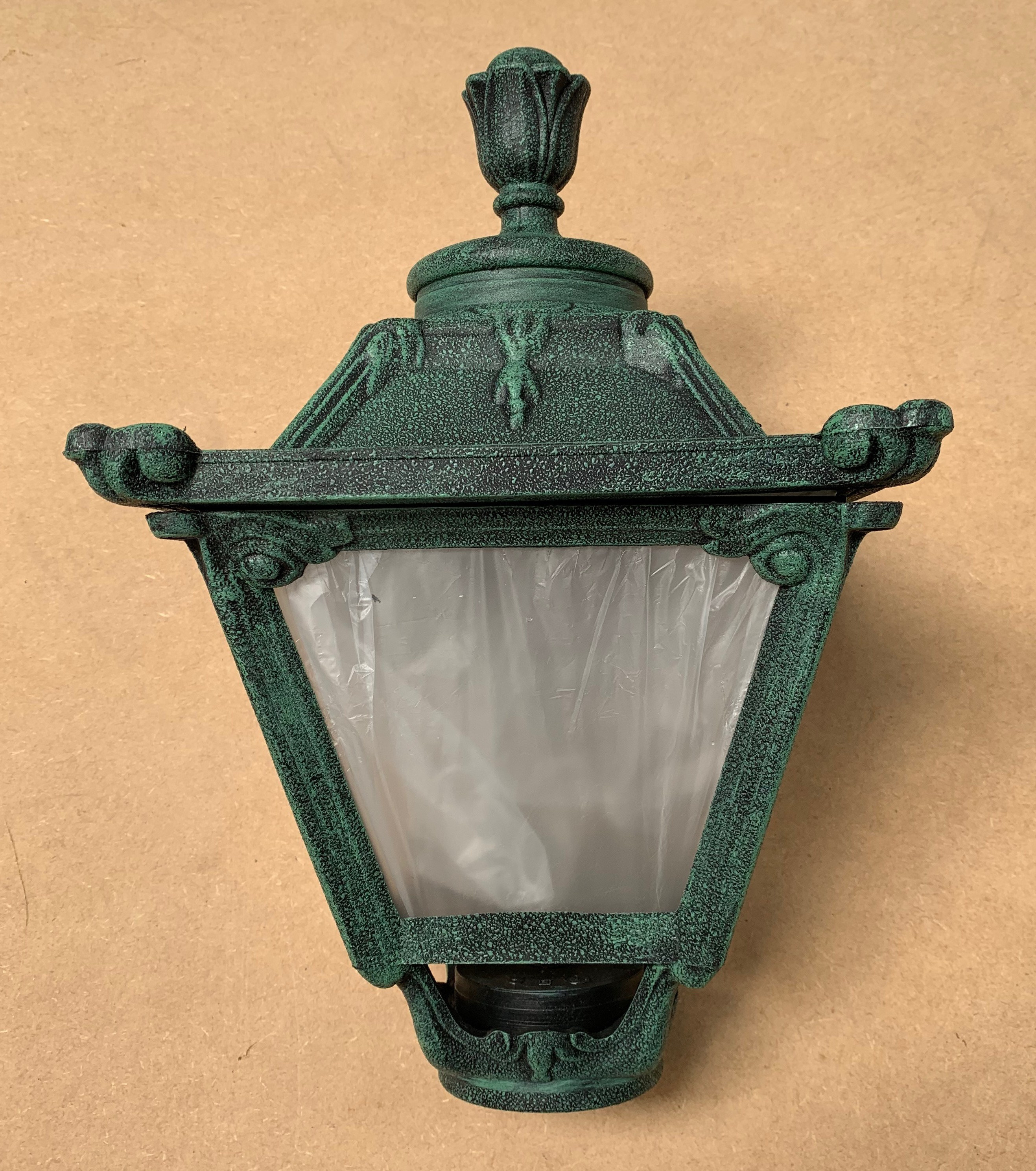 Fumagalli Q23G Roma Medium Lantern in Antique Green