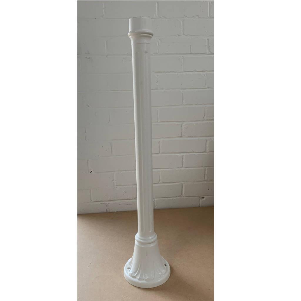 Fumagalli 151.W Solo/Mizar 770MM Post in White - Buy online or in store from John Cribb & Sons Ltd