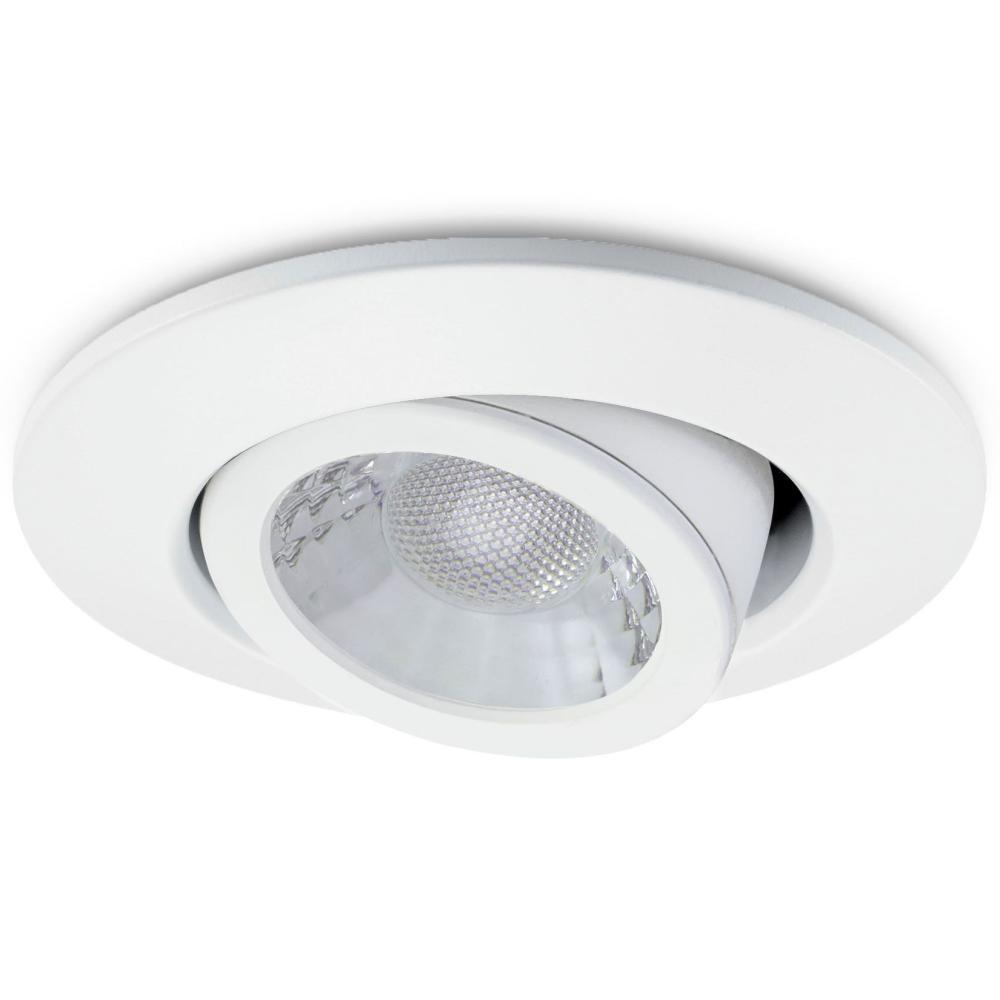 JCC JC1002/WH Fire-Rated V50 Tilt LED Downlight with White Bezel - John Cribb & Sons Ltd