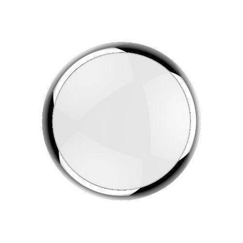 Kosnic KBHC6-TCHM Polo Clip On Ring for Blanca Bulkhead in Chrome - Buy online or in store from John Cribb & Sons Ltd