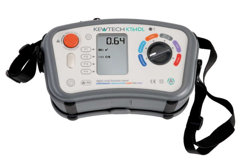 Kewtech KT64DL Multifunction Tester
