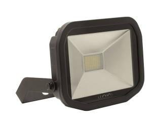 Luceco LFS30B130-02, BG 38W LED FLOOD 3000K BLACK, SLIMLINE GUARDIAN FLOODLIGHTS