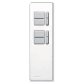 Lutron Remote Control for Rania IR Dual Dimmers White (RID-REMOTH-AWE)