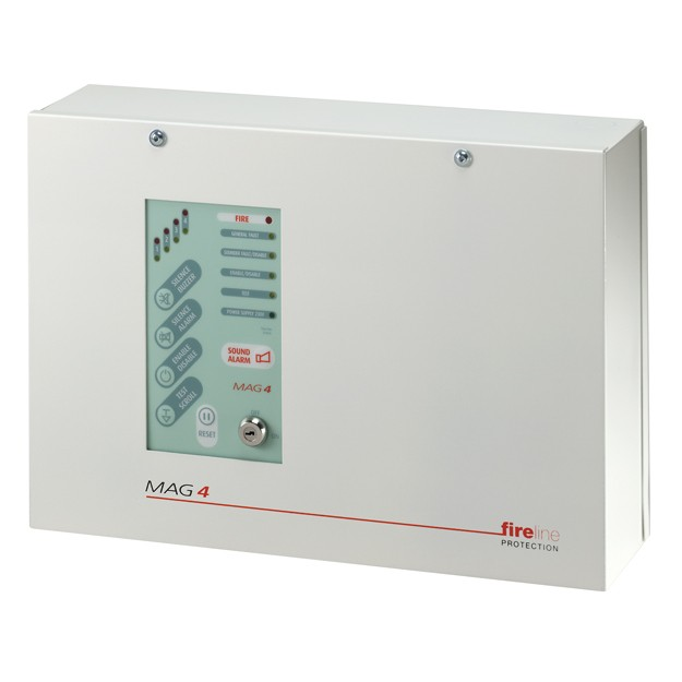 MAG4 4 Zone Fire Panel (MAG4)