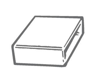 Manrose 1520, 225 x 25mm,  Flat Channel Connector