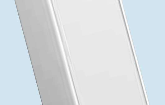 Marco MTP1W 3.6m Power Pole, white powder coated body, uPVC lids