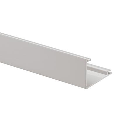 MK Electric VTS4WHI Prestige Plus PVC Wall Trunking (3 Metres)