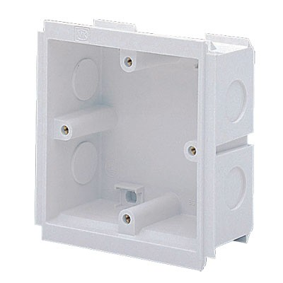 MK Electrics VTS6035WHI 35MM Deep 1 Gang Outlet Box