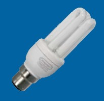 Omicron OMC0105 5W B22 Compact Fluorescent Lamp 2700K (OMC0105)