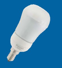 Omicron OMC2801 11W E14 Compact Fluorescent Lamp Energy Saving T2 Spotlight 2700K (OMC2801)